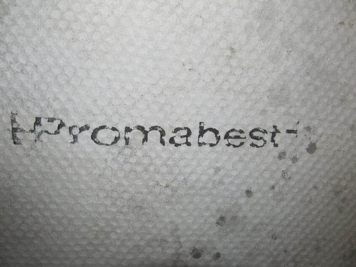 Asbest Platte der Marke Promabest